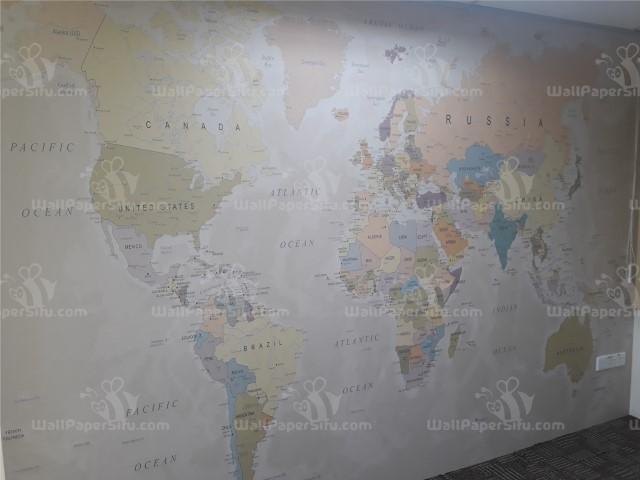 World map Wallpaper 1 - Zanko