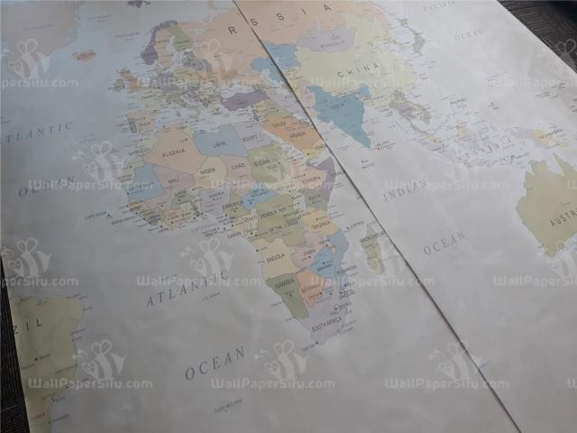 World map Wallpaper 3 - Zanko
