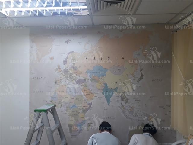 World map Wallpaper 4 - Zanko