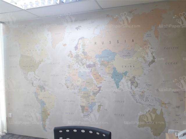 World map Wallpaper 5 - Zanko