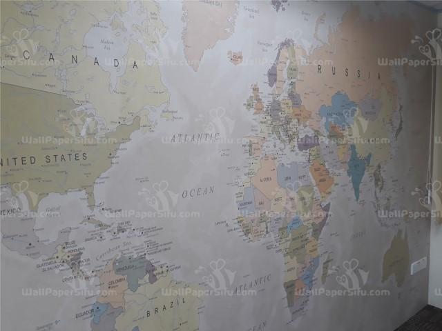 World map Wallpaper 6 - Zanko