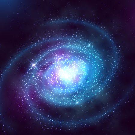 A Star-lit Canvas Galaxy Wallpaper